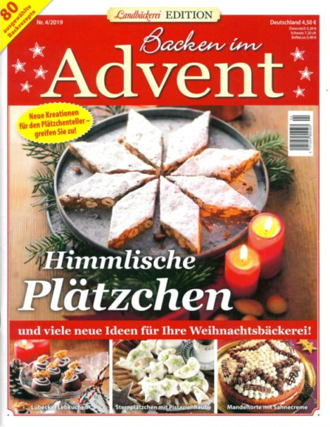 Landbäckerei Edition 201904 Backen im Advent