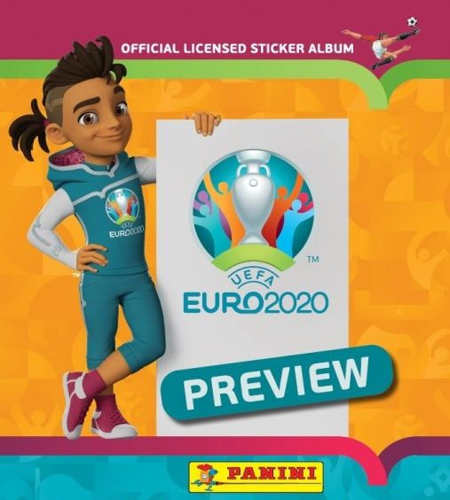 Panini Preview Stickerkollektion
