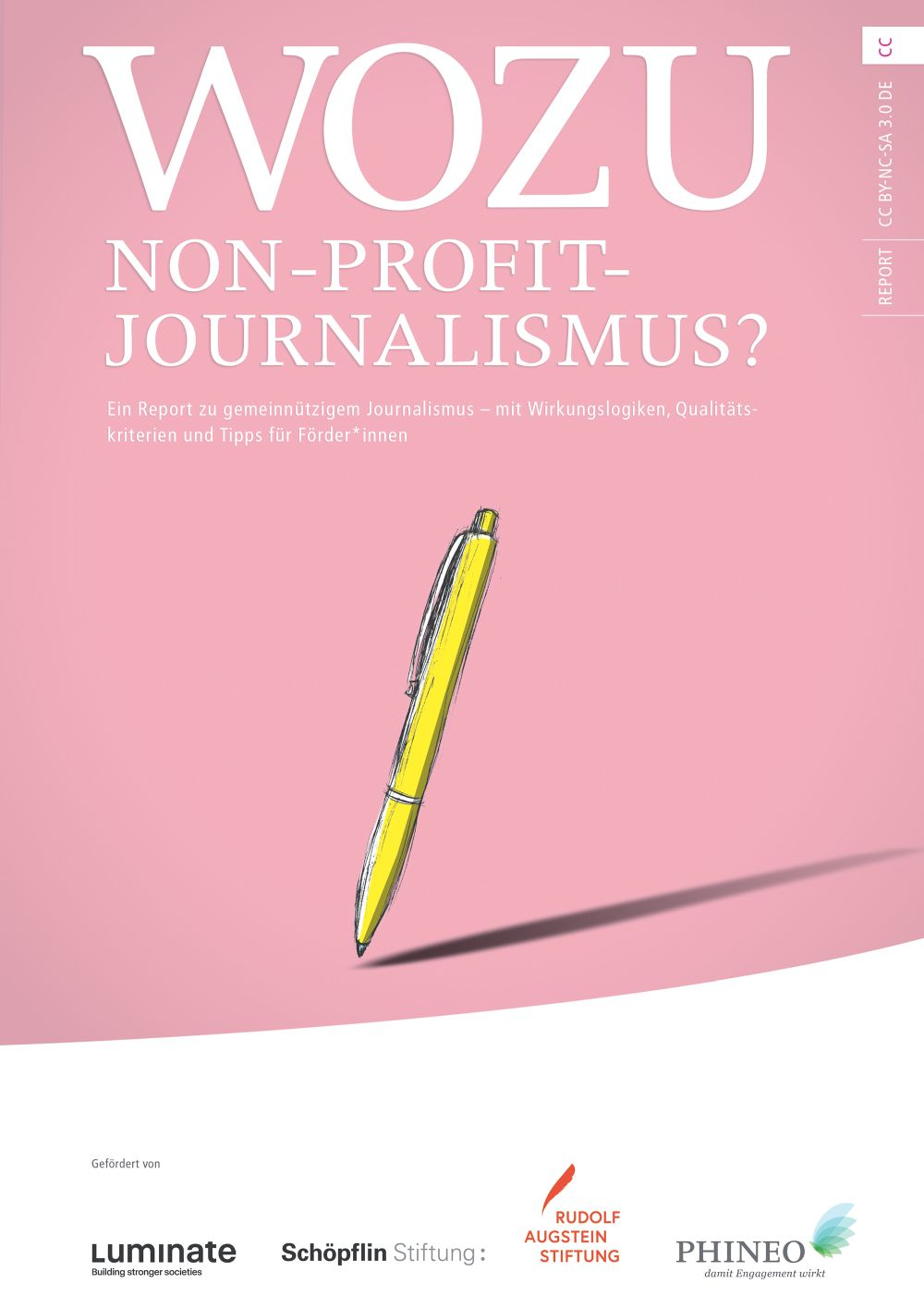 Phineo obs PHINEO gemeinnützige Aktiengesellschaft PHINEOgAG Report Non Profit Journalismus Cfr 2.000px