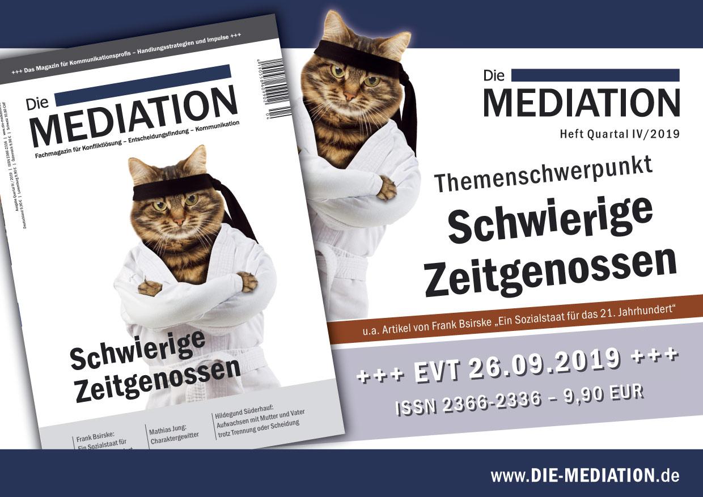 Die Mediation 04/2019 im Handel erhältlich